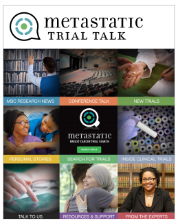 Metastatic Breast Cancer Trial Search
